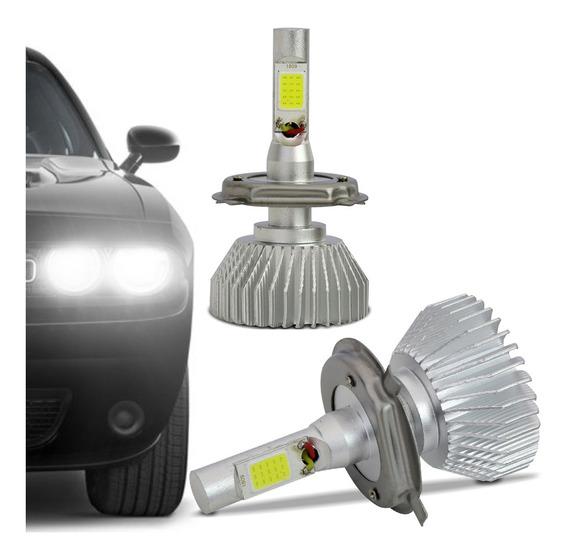 Par Lâmpadas Super Led H4 6000k 48w Universal Carro Caminhão