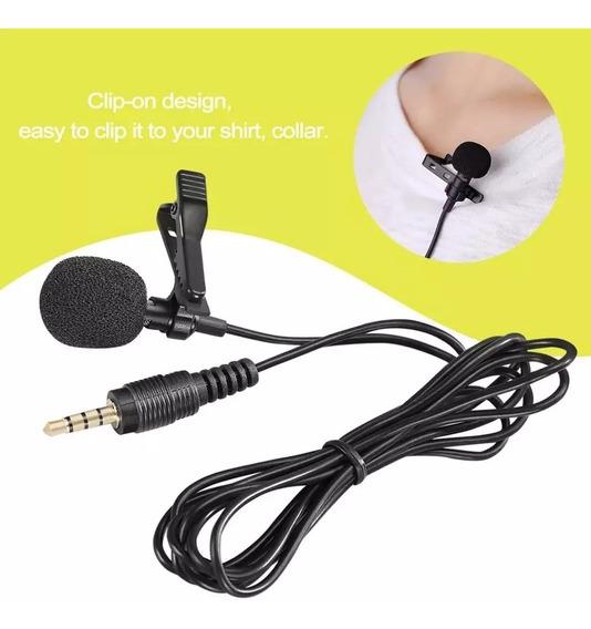 Microfone De Lapela Para Smartphone/celular
