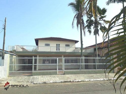 Imagem 1 de 27 de Sobrado Com 3 Dormitórios À Venda, 280 M² Por R$ 550.000,00 - Balneário Flórida - Praia Grande/sp - So0055