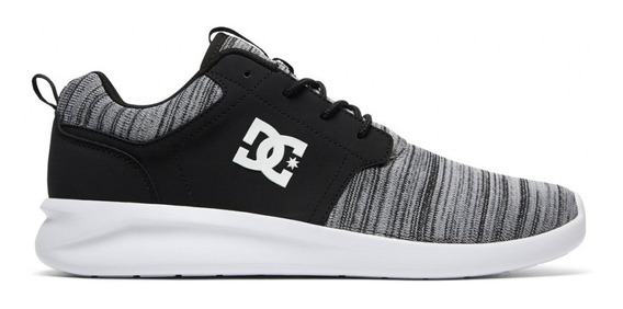 Zapatillas Dc Midway Sn Vn Hombre 1201112098