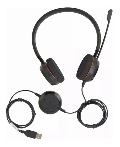 Headset Jabra Evolve 20 Uc Duo Usb 4999-829-209