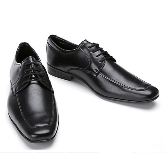 Zapatos Newport Negro De Vestir