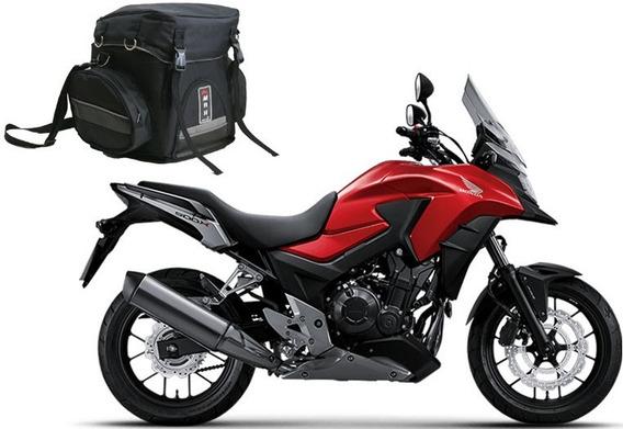Mala Bau Para Viagem Moto Traseiro Impermeável Honda Cb 500x