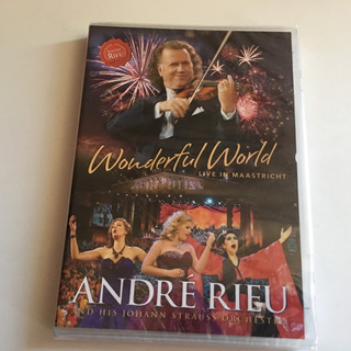 André Rieu Wonderful World Live Dvd Nuevo Y Sellado