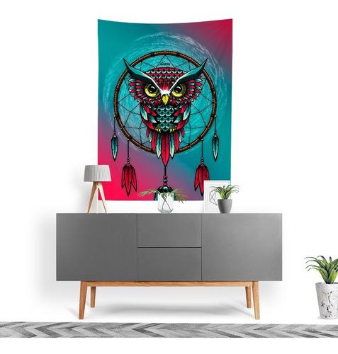 Tecido Decorativo Decoração Tactel Interto Externo Dream Owl
