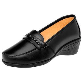 Zapatos Oxford Casual Dama Negro Florenza Piel Udt 16287