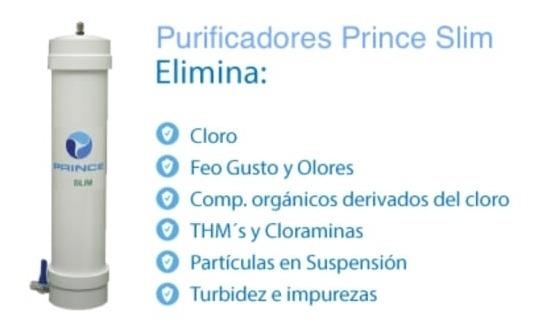 Repuesto De Purificador De Agua Filtro Prince Slim