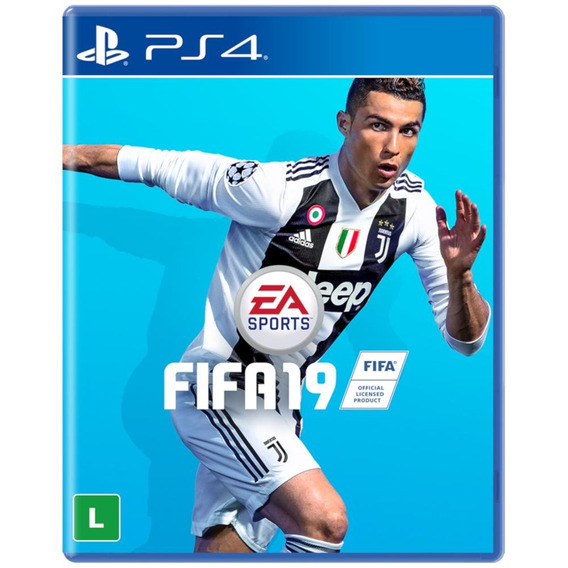 Game Fifa 19 Para Ps4 Mídia Física