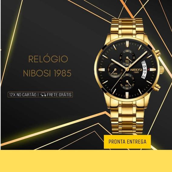 Relógio Nibosi Cronógrafo Promoção Pronta Entrega