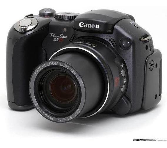 Camera Cannon S3-is Ótimo Estado+ Bolsa Para Transporte