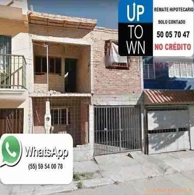 Casa En Remate Hipotecario Rodolfo Landeros/ags. (7220)