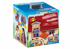 Playmobil Casa Mobiliada Completa Maleta 5167