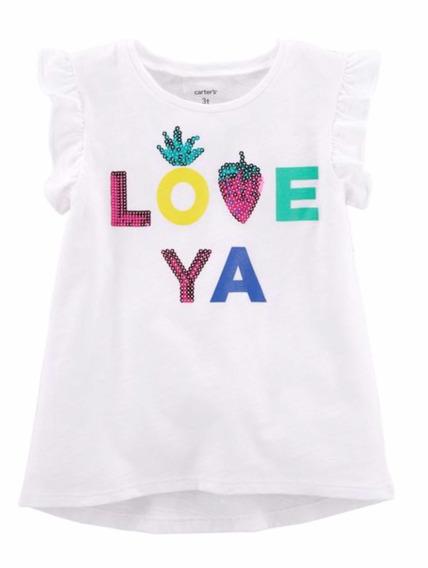 Camiseta Carters Love Ya