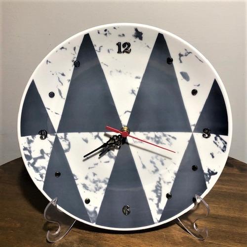 Imagem 1 de 4 de Relógio Geométrico 28,5cm