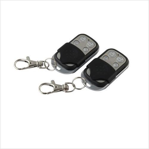Imagen 1 de 3 de Control Remoto Llavero  Alarmas 433mhz Wolfguard 4 Botones