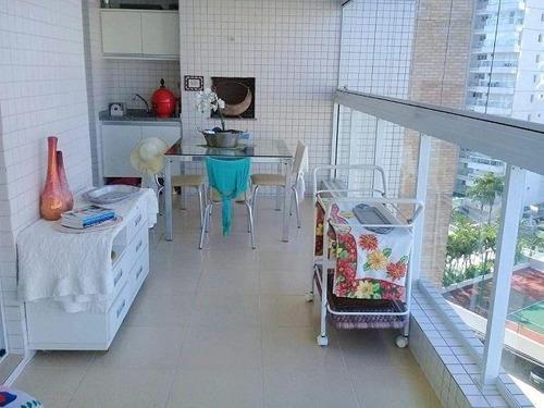 Imagem 1 de 19 de Apartamento Com 3 Dormitórios À Venda, 112 M² Por R$ 950.000,00 - Enseada - Guarujá/sp - Ap5412