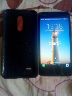 Smartphone K11+ Plus Com Capa Anti-impacto E Película