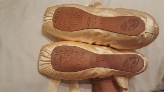 Zapatillas De Punta Ballet Cecilia Kerche Perf. Sin Uso