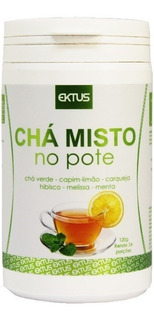 Chá Misto Verde 120g Original - Ektus Para Emagrecimento