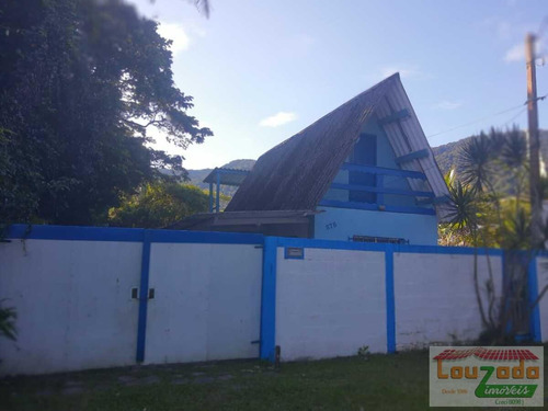Imagem 1 de 11 de Casa Para Venda Em Peruíbe, Guarau Garça Vermelha, 3 Dormitórios, 2 Banheiros, 3 Vagas - 3706_2-1210687