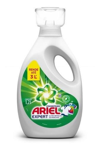 Lava Roupas Concentrado Ariel Expert 1,2l