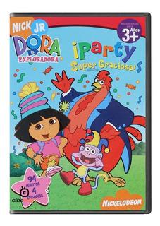 Dora La Exploradora Party Super Graciosa Pelicula Dvd