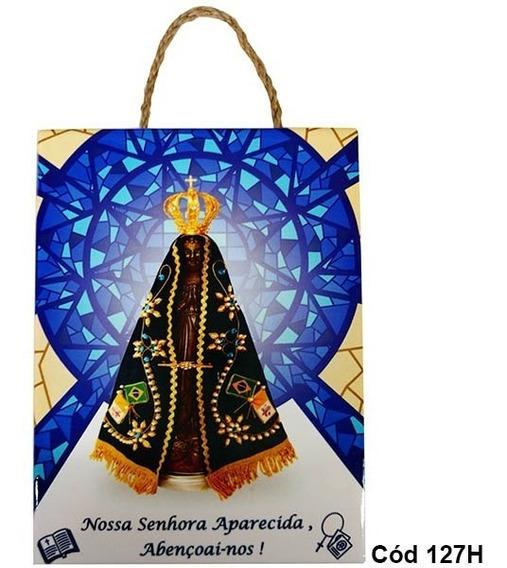 Quadro Placa Decorativa Nossa Senhora Aparecida Oração 127h