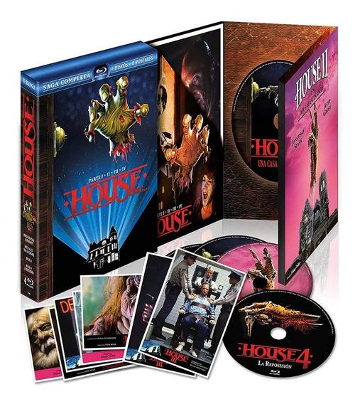 Blu-ray Coleção A Casa Do Espanto Gift Set Lenticular Card