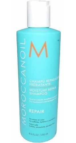 Moroccanoil Shampoo 250 Repair Pelo Aceite Argan Reparador