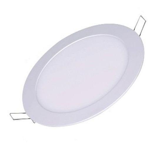Painel Plafon Lampada Led Redondo Embutir 25w 24w 6500k