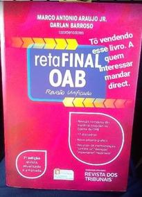 Reta Final Oab - Revisão Unificada - 7ª Ed. 2017