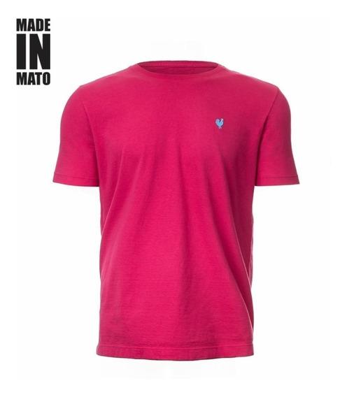 Camiseta Masc - Básica Made In Mato Pink
