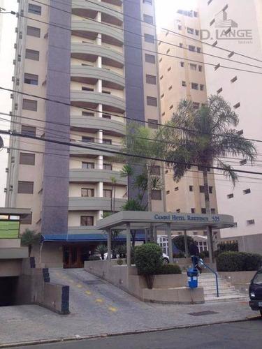 Imagem 1 de 7 de Cambui!!! Localização Privilegiada! - Ap17792