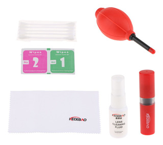 Professional Camera Cleaning Kit For Dslr Cameras- Canon, Ni
