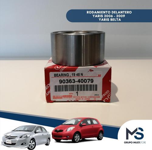 Rodamiento Delantero Abs Toyota Yaris 2006 2007 2008 2009
