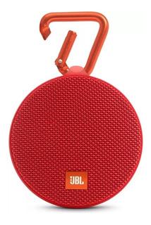 Parlante JBL Clip 2 portátil inalámbrico Red