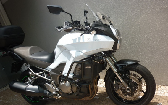Kawasaki Versys 1000 Abs 2013 Branca