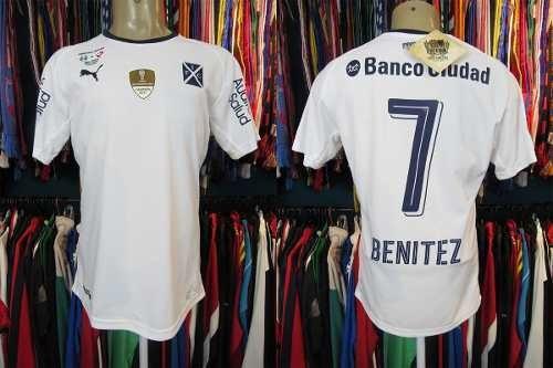 Independiente Recopa 2018 Camisa Reserva M Número 7 Benitez.