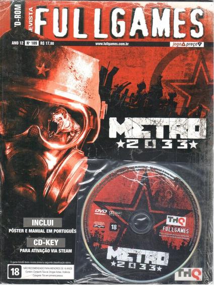 Metro 2033 Pc Original Mídia Física Fullgames 109