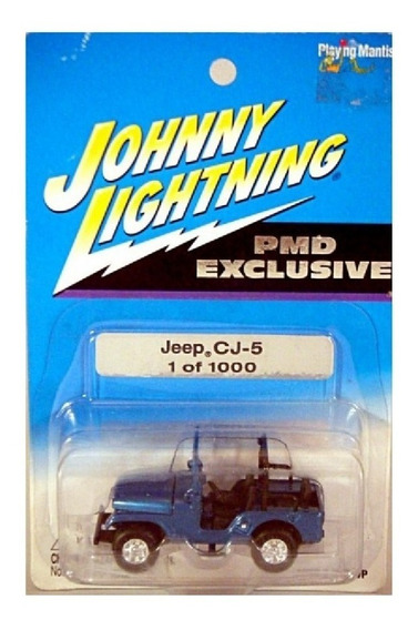 Jeep Cj5 Johnny Lightning Ruedas De Goma Solo Envios