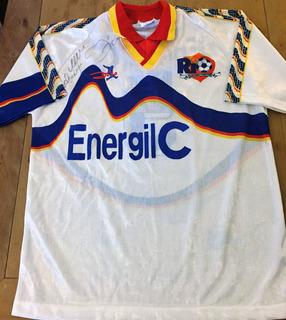 Camisa Rio De Janeiro F. C. De Jogo Autografada Zico Rara