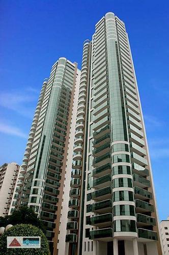 Imagem 1 de 30 de Apartamento Com 4 Dormitórios Para Alugar, 335 M² Por R$ 25.000,00/mês - Jardim Anália Franco - São Paulo/sp - Ap5183