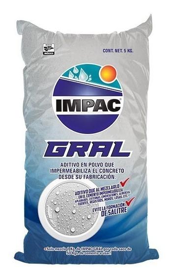 Aditivo En Polvo Impermeabilizante De Concreto Impac Gral