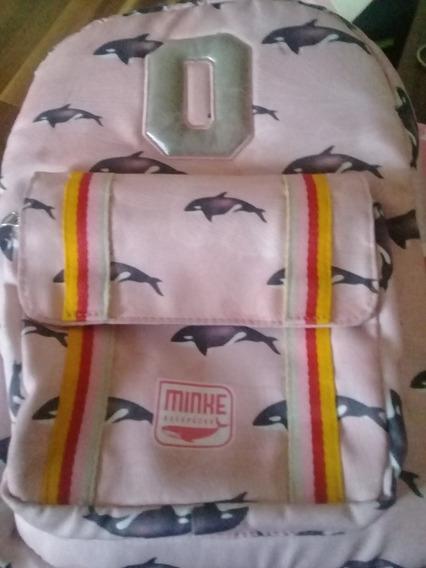 Mochila Minke Bag Escolar
