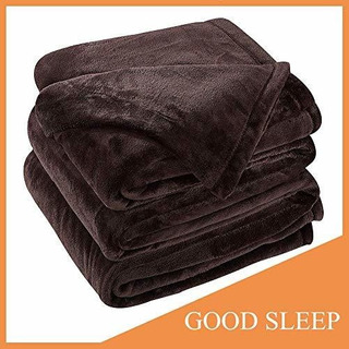 Sonoro Kate Fleece Blanket Soft Warm Fuzzy Plush Queen Extra