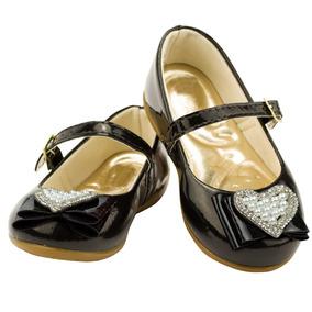 cf001c2b3f Sapato Infantil Menina Preto - Sapatos no Mercado Livre Brasil