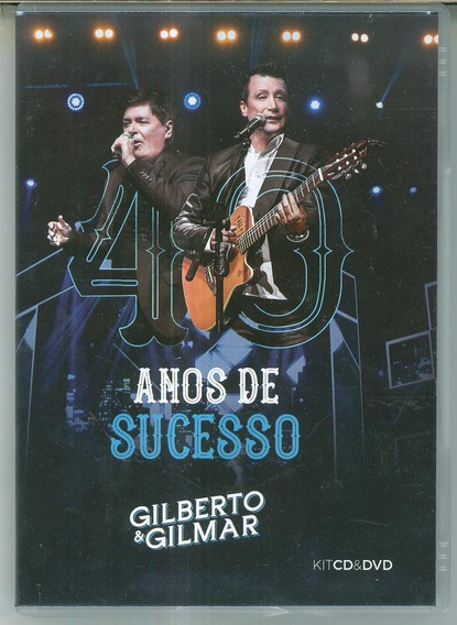 Cd+dvd Gilberto & Gilmar - 40 Anos