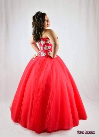 Vestido De 15 (corte Princesa)