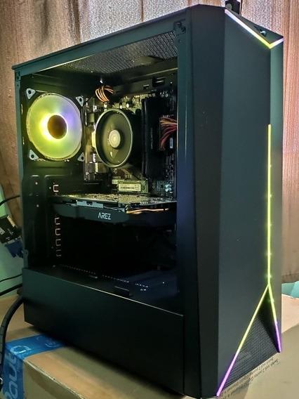 Pc Gamer Ryzen 5 1600 Af 8gb Ddr4 Rx 580 8gb