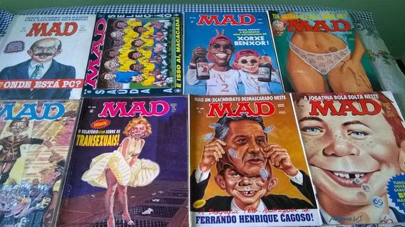 7 Revistas Mad Nos. 98,102,107,111- Humor/sátira Política